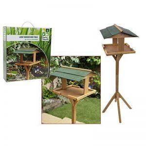Roots and Shoots Mangeoire pour oiseaux en bois sur pied Grand format de la marque Roots & Shoots image 0 produit