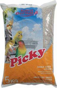 SAINT BERNARD Picky Sable Anis Litière pour Oiseau 5 kg de la marque SAINT BERNARD image 0 produit