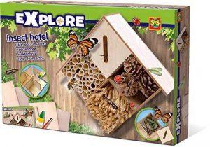 Ses France 25008 - Kit De Loisirs Créatifs - L'hôtel Des Insectes de la marque Ses France image 0 produit