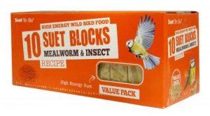 Suet To Go ténébrion mat & Insect Bloquer Value Pack 10pk de la marque Unipet image 0 produit