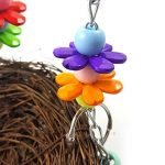 Teenxful Bluelans Pet Parrot jouet Nid d'oiseau à suspendre calopsitte élégante perruche Climb Mâcher balançoire Nid de la marque Bluelans image 5 produit