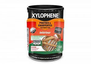 Traitement Poutres & Charpentes, Xylophene - Incolore, 5L de la marque Xylophene image 0 produit
