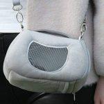 Transport Pour Animal domestique Hamster Sac de transport pour hamster Lit Maison d'hiver Polaire chaude écureuil Hérisson Rat Mouse Lit Cage Nid pour hamster Accessoires de la marque FLAdorepet image 1 produit