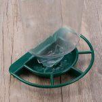 UEETEK Mangeoire d'oiseau sauvage de fenêtre en plastique transparent avec le meunier pour le perroquet de Songbird de la marque UEETEK image 5 produit