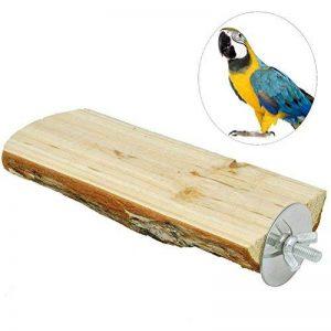 UEETEK Parrot Grapevine Stand Rack Board Plate-forme Jouet Parrot Branch Perches pour Pet Bird Cage 15cm de la marque UEETEK image 0 produit