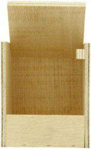 VADIGRAN Nobby Nichoir Ouvert en Bois pour Oiseau Exotique 11 x 11 x 13 cm de la marque VADIGRAN image 0 produit