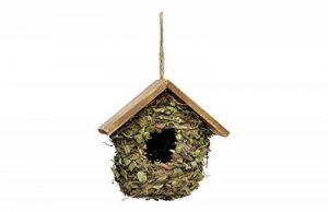 Verdemax 5757Feuilles et maison de toit en bois pour petits oiseaux de la marque Verdemax image 0 produit