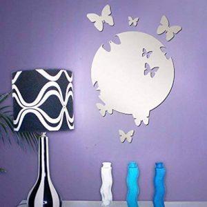 Walplus Maison Miroir en forme de Papillon pour décoration murale Reflet espace intérieur de la marque Walplus image 0 produit