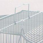 Yahee cage d'oiseaux cage de perroquet volière pour oiseaux perroquet 46 x 36 x 92 cm (Blanc) de la marque Yahee image 2 produit