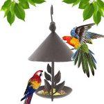 Yuccer Mangeoires Oiseaux du Jardin, Grand Bains pour Oiseaux Sauvages Très Résistante Parfaite pour la Décoration de Cour de la marque Yuccer image 1 produit