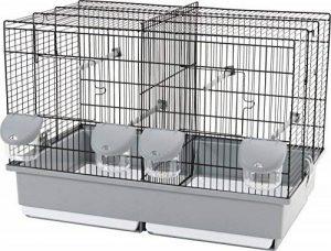 Zolux - Cage Elevage 57 Noir / Gris de la marque Zolux image 0 produit
