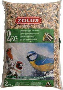 Zolux Mélange de graines pour oiseaux de la nature sac de 2 kg de la marque Zolux image 0 produit