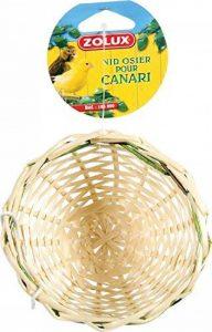 Zolux Nid Canaris Osier pour Oiseau de la marque Zolux image 0 produit